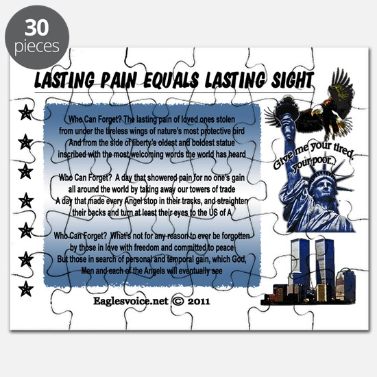 Lasting Sight blue done copy Puzzle