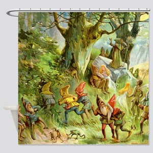 book of gnomes016_SQ3 Shower Curtain