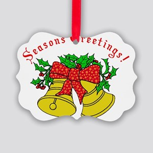 Christmas Bells 3D Picture Ornament