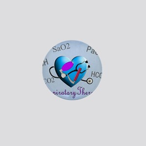 rt print 2 blue Mini Button