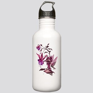 150 res PINK-CLEAR Stainless Water Bottle 1.0L