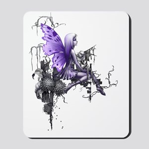 150 res pink skull Mousepad