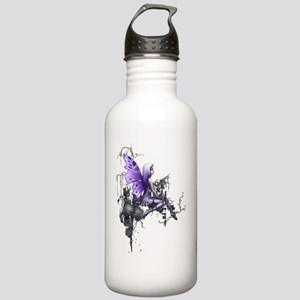 150 res pink skull Stainless Water Bottle 1.0L