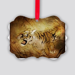 wuhing_tiger_t-shirt Picture Ornament