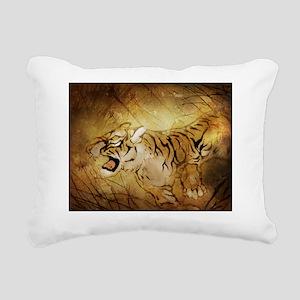 wuhing_tiger_t-shirt Rectangular Canvas Pillow