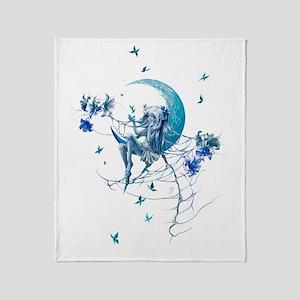 150 res Moon Throw Blanket