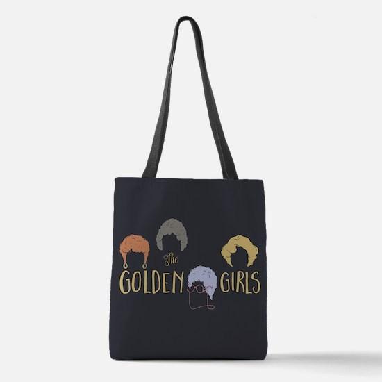 Golden Girls Minimalist Polyester Tote Bag