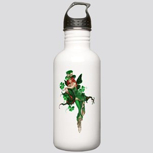 St patricks Day Fairy  Stainless Water Bottle 1.0L