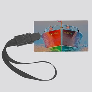 D1260-028hdr Large Luggage Tag