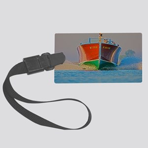 D1259-048hdr Large Luggage Tag