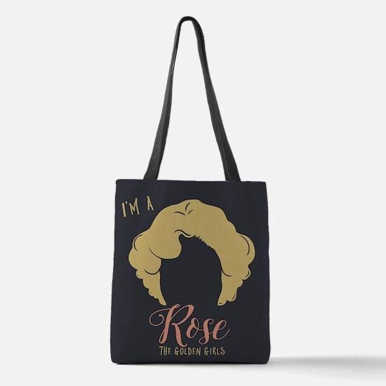 I'm A Rose Golden Girls Polyester Tote Bag
