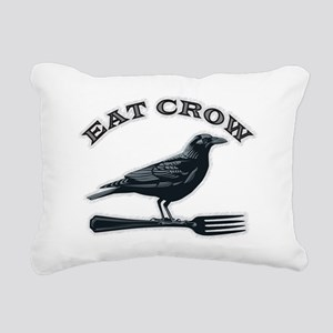 eat crow Rectangular Canvas Pillow