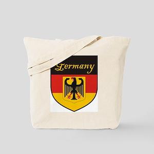 Germany Flag Crest Shield Tote Bag