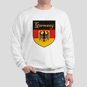 Germany Flag Crest Shield Sweatshirt