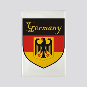 Germany Flag Crest Shield Rectangle Magnet