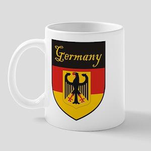 Germany Flag Crest Shield Mug