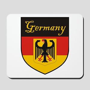 Germany Flag Crest Shield Mousepad