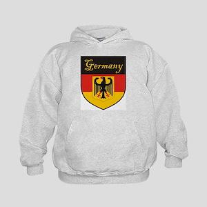 Germany Flag Crest Shield Kids Hoodie