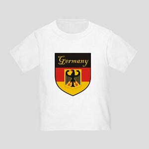 Germany Flag Crest Shield Toddler T-Shirt