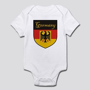 Germany Flag Crest Shield Infant Bodysuit