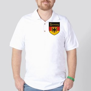 Germany Flag Crest Shield Golf Shirt