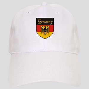Germany Flag Crest Shield Cap