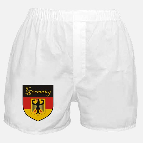 Germany Flag Crest Shield Boxer Shorts