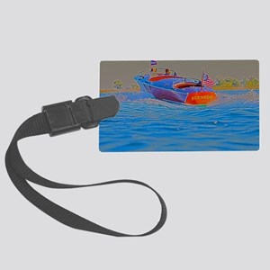 D1306-001hdr Large Luggage Tag