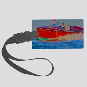 D1306-088hdr Large Luggage Tag