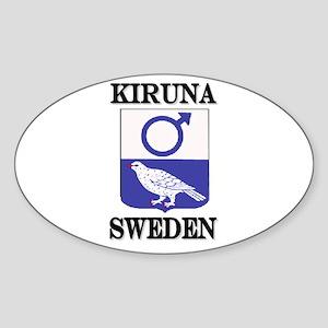 The Kiruna Store Oval Sticker