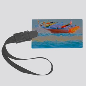D1304-112hdr Large Luggage Tag