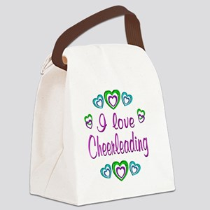 cheerleading Canvas Lunch Bag