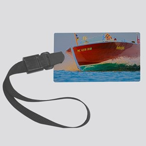 D1304-083hdr Large Luggage Tag