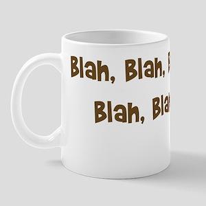 blahwoof_light Mug
