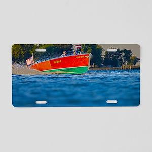 D1306-034hdr Aluminum License Plate