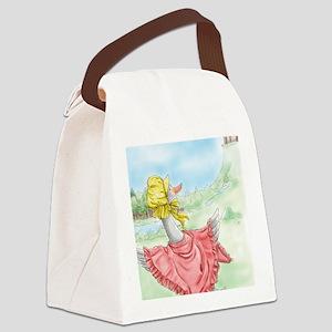 MotherGoose_iPadSleeve Canvas Lunch Bag