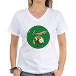 Daughters of the Nile Women's V-Neck T-Shirt