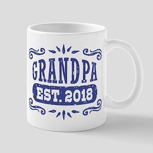 Grandpa Est. 2018 11 oz Ceramic Mug