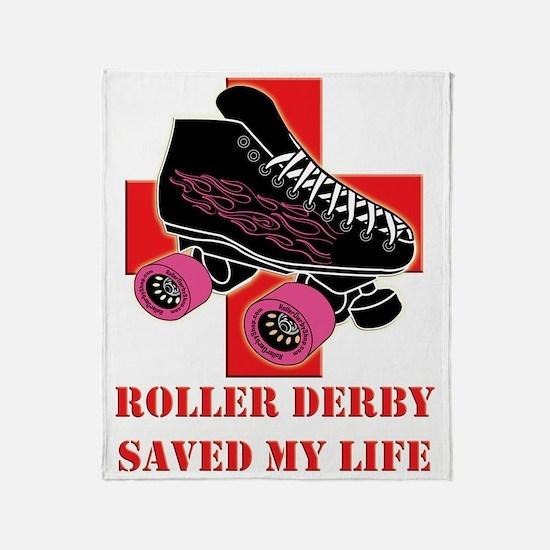 roller_derby_saved_me copy Throw Blanket
