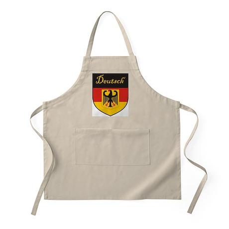 Deutsch Flag Crest Shield BBQ Apron