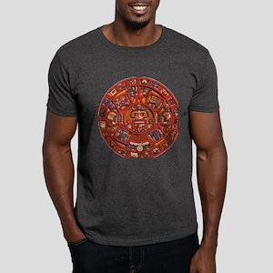 MAYAN CALENDAR Dark T-Shirt