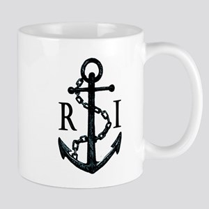 Rhode Island Anchor Coffee Mug