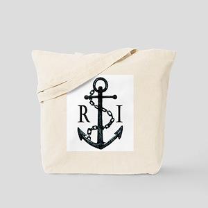 Rhode Island Anchor Tote Bag