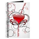 Love Swirls Journal
