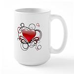Love Swirls Large Mug