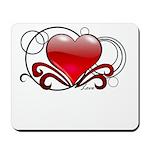 Love Swirls Mousepad