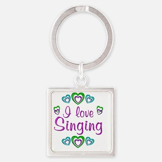 singing Square Keychain