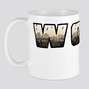 woof and stuff_dark Mug