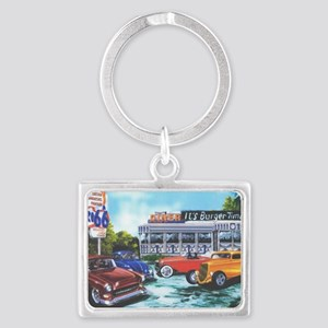 ItsBurgerTime_CP_90% Landscape Keychain