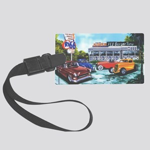 ItsBurgerTime_CP_90% Large Luggage Tag